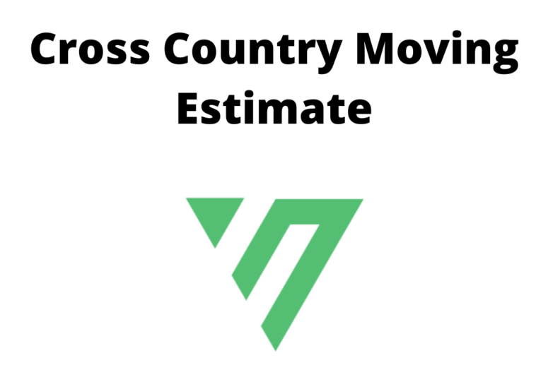 Cross Country Moving Estimate